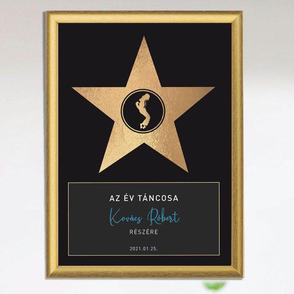 Az év hőse díj -  táncosoknak