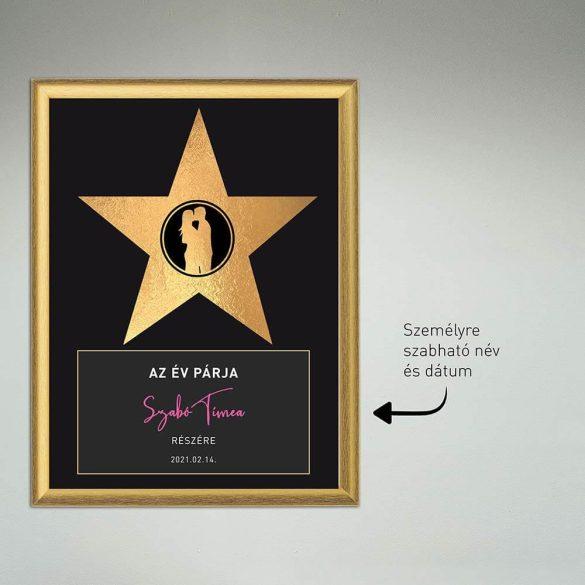 Az év hőse díj -  párodnak