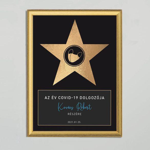 Az év hőse díj -  Az év COVID-19 dolgozója